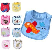 baby boy supplies - Infant Cartoon Animal Bibs Cute Toddler Lunch Burp Cloths Towel New Baby Girls Boys Pure Cotton Waterproof Bibs Scarf Feeding Supplies F405