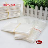 Wholesale 7 cm POF Shrink Wrap Bags white POF Film Wrap Cosmetics Packaging Bag Open Top Plastic Heat Seal Shrink Storage Bag Spot package