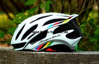 Wholesale Freeshipping Cycling Helmet Road Mountain In mold Bicycle Helmet Ultralight Bike Helmet With LED Warning Lights Casco Ciclismo