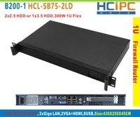 audio racks - HCiPC B200 HCL SB75 LD B75 LAN U Firewall BareBone