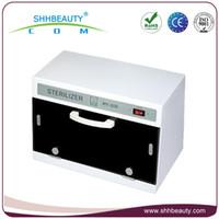 Wholesale Beauty salon heated towel sterilization cabinet equipment UV hot towel warmer sterilizer towel warmer