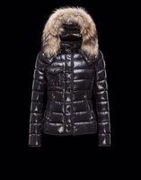 authentic fur coats - New Authentic Fox Fur Hooded Down Jacket Women Parkas Coats Nwt Black Short Warm Winter Jackets Brand Designer Outwear