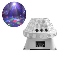 bars dance - 24W Mini LED Stage Light Spotlight dj set gobo Stage light projector for Christmas Dance home party bar event