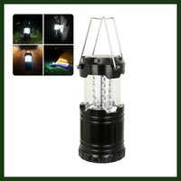 battery hurricane lanterns - Ultra Bright Collapsible Camping Lantern which for Hiking Emergencies Outages Storms Camping and Multi Purpose Black