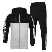 Wholesale 2016 New Brand Sports Suits Man Autumn Winter Men Tracksuits Sets Jogger Jacket Pants Sporting Suit Hip Hop Sweatshirts Hombre