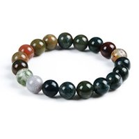 bar agate - mm Multistyle Natural stone beads bracelet Lapis Lazuli Agate Bracelet For Woman Man Pulseras Mujer