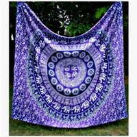 Wholesale Bohemian Mandala Beach Tapestry Hippie Throw Yoga Mat Towel Indian Polyester Beach Shawl Bath Towel cm DHL