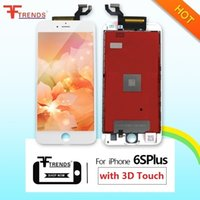Wholesale Black White LCD Display Touch Digitizer Screen Full Assembly Replacement for iPhone S Plus With D Touch