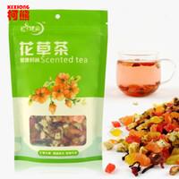 al por mayor té mezclado-C-TS011 ¡Promoción! 5A 100g té de la fruta de la moda de la fruta del senil del retardo saborizó el té pierde el peso mejora el té de la mezcla de la inmunidad