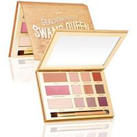 Wholesale Tarte Swamp Queen Eyeshadow in Bloom Clay Palette Colors Eye Shadow Set By Tarte EyeShadow Palette Kit with brush