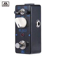 aby guitar pedal - AROMA ABY Classic Blues Style Overdrive Guitar Effect Pedal True Bypass Modes Aluminum Alloy Body Guitar Parts Accessories