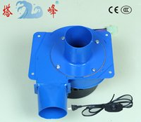 Wholesale China w gas smoke hot air discharge blower small centrifugal draft fan stepless speed regulator
