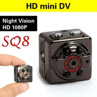 Venta al por mayor-HD Deporte Mini Cámara DV DC Video Grabadora / espía infrarrojos de visión nocturna Cam Camcorder Digital pequeña oculta