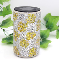 bamboo trade - Mosaic sunshine pot fashion home Festival holiday promotion gift factory direct foreign trade electricity supplier