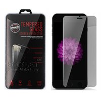 apple iphone protectors - For Iphone Tempered Glass Screen Protectors For Iphone Plus Iphone D Explosion Shatter Screen Protector Galaxy ON5 Film In box