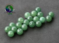 Wholesale 2016 Low Price Jewerly MM Natural Light Green Beads Round Loose Beads DIY Necklace Bracelet