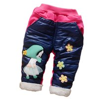 Wholesale Children Winter Leisure Trousers Girl Upset Velvet Panty New Baby Camouflage Pants Kids Girl Fashion Camo Pants Kids Loose Autumn Trousers C