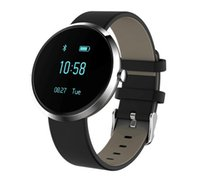 Wholesale 2017 Fashion new Bluetooth Smart Bracelet blood pressure heart rate monitor watch for unisex fitness tracker wristwatch for ios android