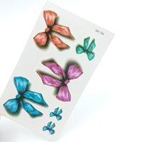 art rosettes - Colorful Rosette Fashion Temporary Tattoo Stickers Temporary Body Art Waterproof Tattoo Pattern HC195