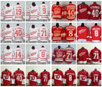 abdelkader jersey - Detroit Red Wings Hockey Jerseys Henrik Zetterberg Justin Abdelkader Dylan Larkin Gustav Nyquist Centennial Classic Jerseys