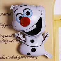 Wholesale Olaf the Snowman Balloon Birthday Party Decoration X43CM