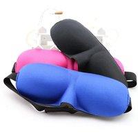 Wholesale Hot Fashionable Sleeping Eye Mask with Sponge goggles Soft comfortable Blindfold Cover Light Mask
