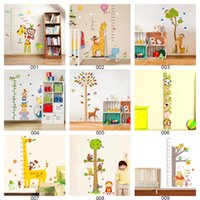 Wholesale 60x90cm Large Wallpaper Stickers For Nursery Kids Bedroom Removable Wall Decals Sticker Room Decoration Murals Mix Order Factory