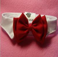 Wholesale Pet Supplies Dog Tie Wedding Accessories Pet Bow Tie Dog Cat Bowtie Formal Pet Necktie Adjustable Collar Party Necktie G4