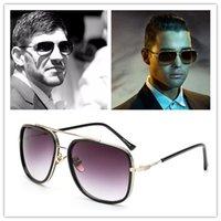 achat en gros de gafas aviator-Marque Desigher-2017 Nouveau Dita Avocet Deux Aviator Style Lunettes de soleil Homme Homme UV400 Square Sun Lunettes de haute qualité Oculos De Sol Gafas Masculino