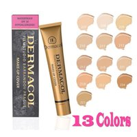 Cheap 254187659 Dermacol shade Best 1pcs Dermacol Makeup Cover Concealer Cream