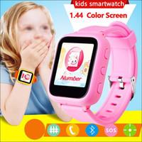Posición de la estación base A1 Posicionamiento Smart Watch Niños SOS Llamada Ubicación Buscador Device Tracker Kid Safe Anti Lost Monitor IOS