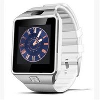 Wholesale 2017 NEW Quality Smartwatch Latest DZ09 Bluetooth Smart Watch With SIM Card For Android apple Samsung IOS Android Cell phone inch