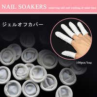 Wholesale bag Nail Art Latex Fingertips Protective Small Rubber Gloves Finger Cots
