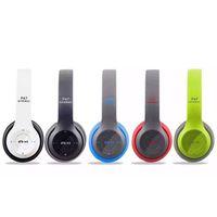 Wholesale P47 Bluetooth Headphone Wireless Headset Hand Free For iPhone Samsung Xiaomi Bluetooth Earphone With MF TF Card