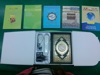 Wholesale Muslim portable Arabic Quran eader Quran reading pen English Spanish French Urdu etc free downloading