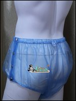 Wholesale ADULT BABY incontinence PLASTIC PANTS P004 T Size M L XL XXL