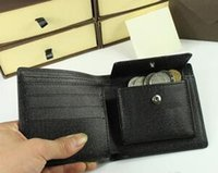 Wholesale New Men Famous Brand Wallets Fashion Men purse arteira Masculina Short Coin Pocket Men Purse Luxury L Brand Carteras With Box