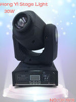 Wholesale HOT Eyourlife LED Inno Pocket Spot Mini Moving Head Light W DMX dj gobos effect stage lights