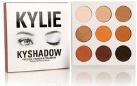Wholesale IN STOCK Kyshadow Kit Kylie Jenner Pressed Powder Eye Shadow Palette Kylie Cosmetics the Bronze Palette Waterproof Eyeshadow colors set