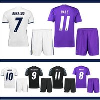 Wholesale New Top Real Madrid Men short Sleeve Adults Jerseys Camisa Shirt Camiseta Maillot