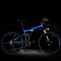 Wholesale Electric bicycle V A A W The lithium battery Mountain bike folding Convenient to carry car luxury bicycle tb310903