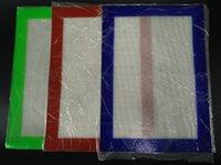 Tapis en silicone Tapis antiadhésifs Tapis en silicone à sec 30cm * 21cm Tapis à pâtisserie alimentaire