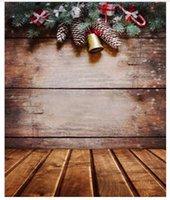 Wholesale 5x7ft Vinyl Photography Background Christmas Decoration Photographic Backdrops For Studio Photo Props Cloth x2 m