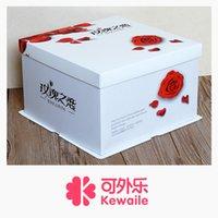 Wholesale Rose love three in one cake box birthday cake box