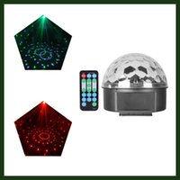 Wholesale DJ Club Bar Disco Party Crystal LED RGB Magic Ball Stage Effect Light Auto Voice Activated Lighting