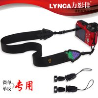 Wholesale LYNCA Micro Single LM SLR Camera Fuji Lanyard Strap Strap Polaroid Digital Camera Accessories