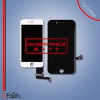 Оптово-Для iPhone 7 7 iPhone 7 Plus A +++ Белый ЖК-дисплей с сенсорным экраном Панель Digitizer + Frame Assembly
