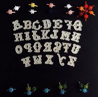 YC-15-D344 alphabet stencils - English Alphabet A Z Metal Die cutting Dies For DIY Scrapbooking Photo Album Decorative Stencil Die Cut