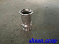 adapter bushing - Stainless Steel Adapter With Male Threaded Pipe Press Fitting L Sanitary Install Convenient High Quality Factory Price