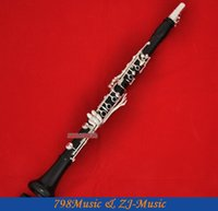 Wholesale Professional Grenadilla Black Wooden Key Bb Clarinet Boom System With Case